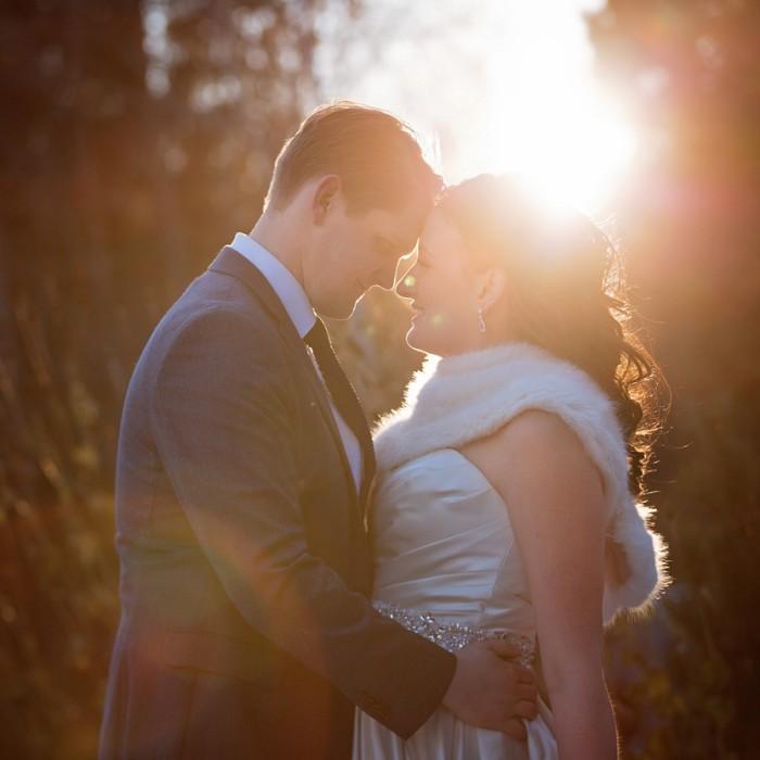 Nita Lake Lodge winter wedding