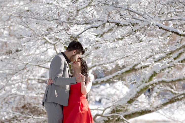 Winter Engagement Vancouver
