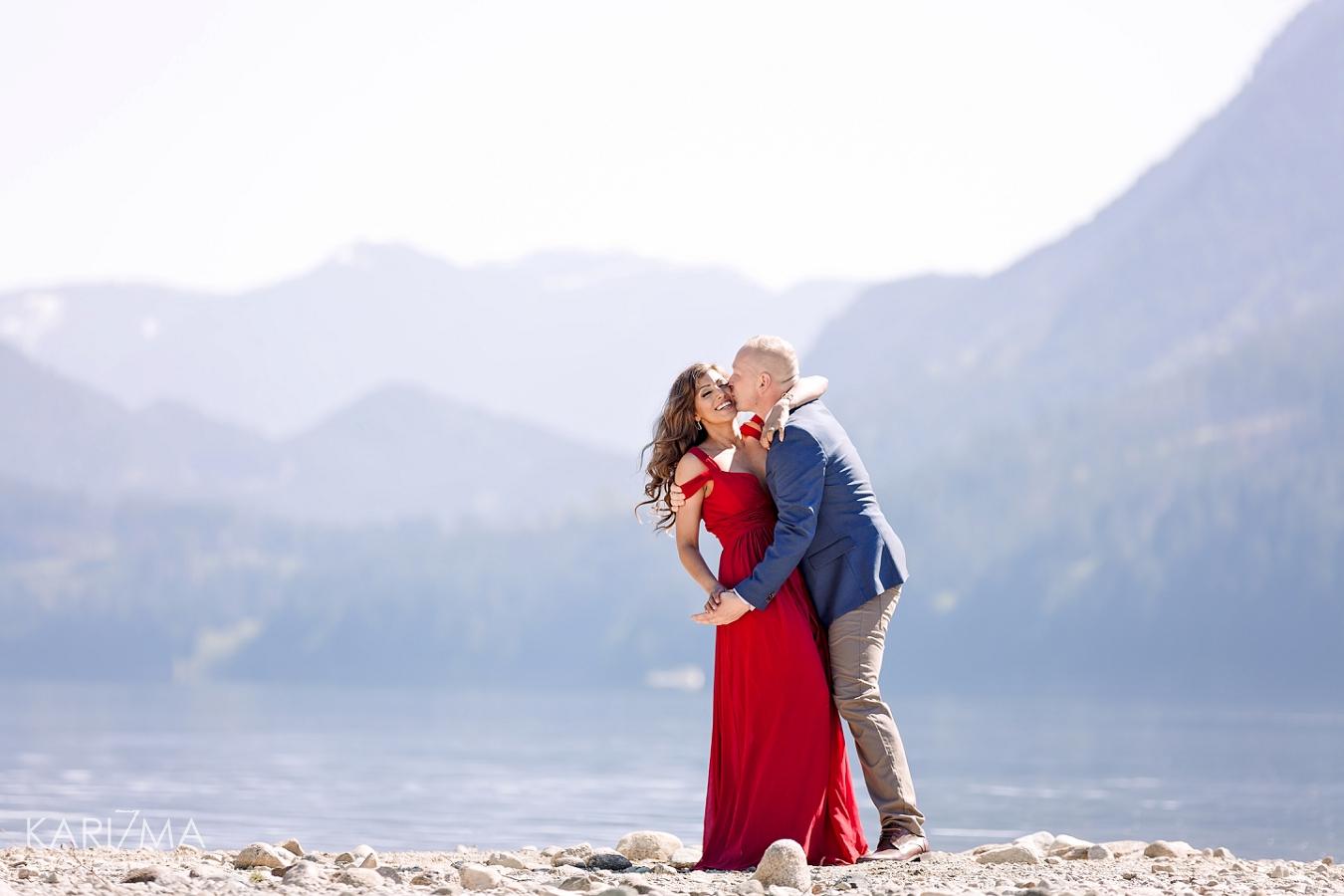 Alouette Lake Engagement