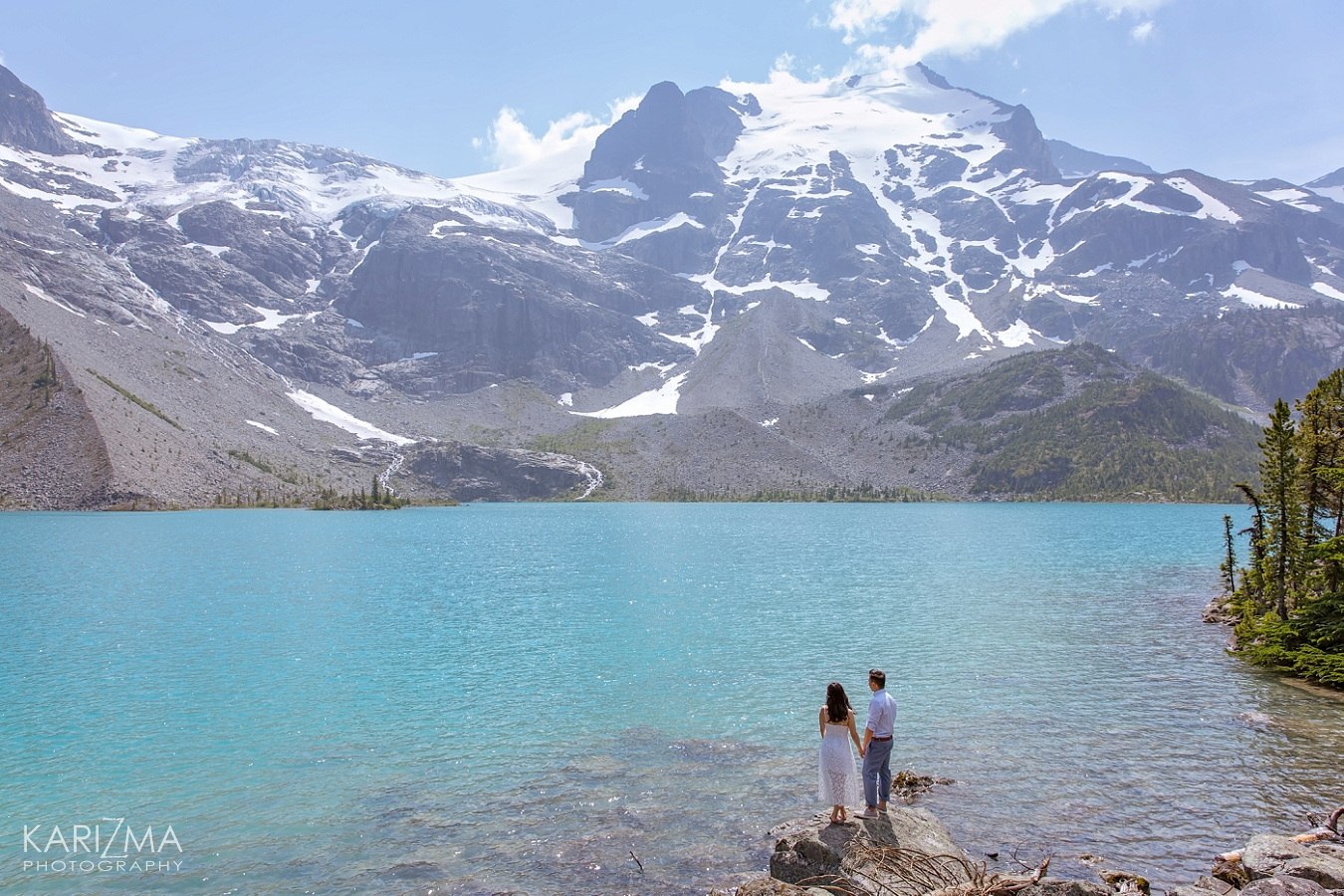 Joffre Lakes Engagement