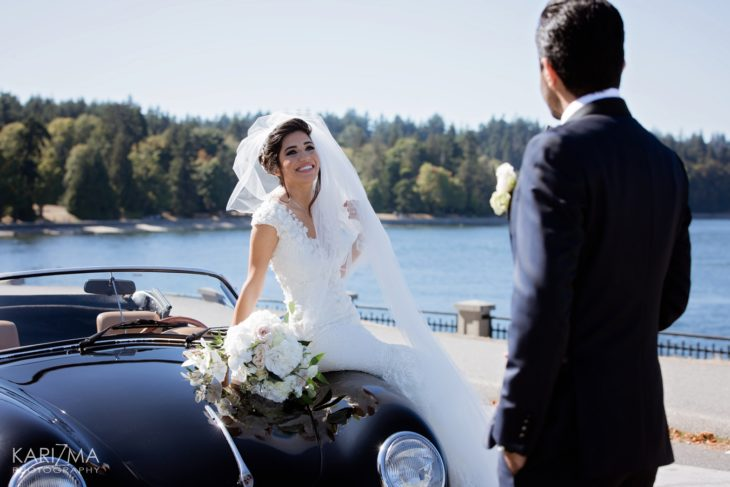 Marriott Pinnacle Wedding Vancouver Porsche