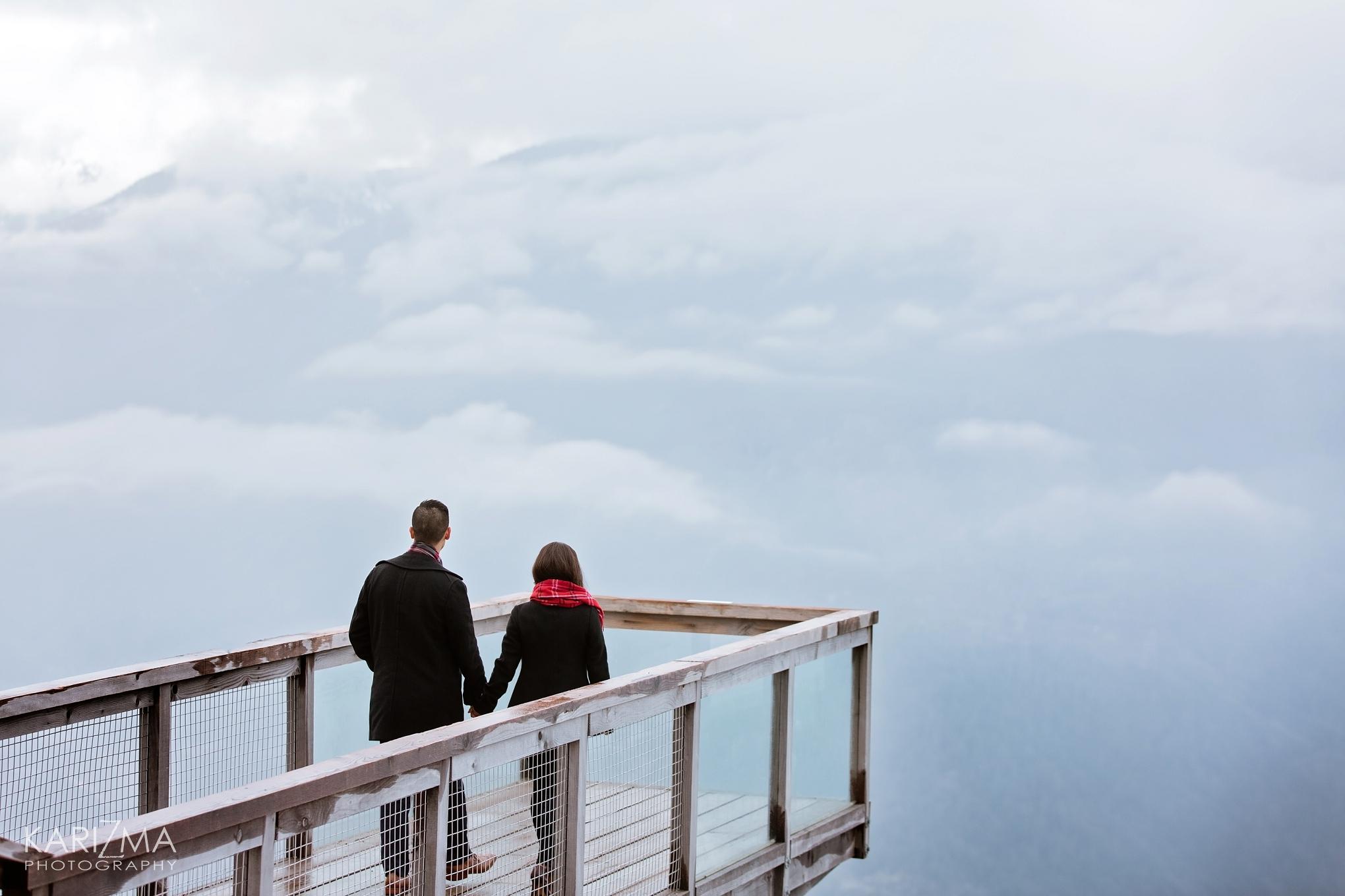 Sea to Sky Gondola Winter Engagement