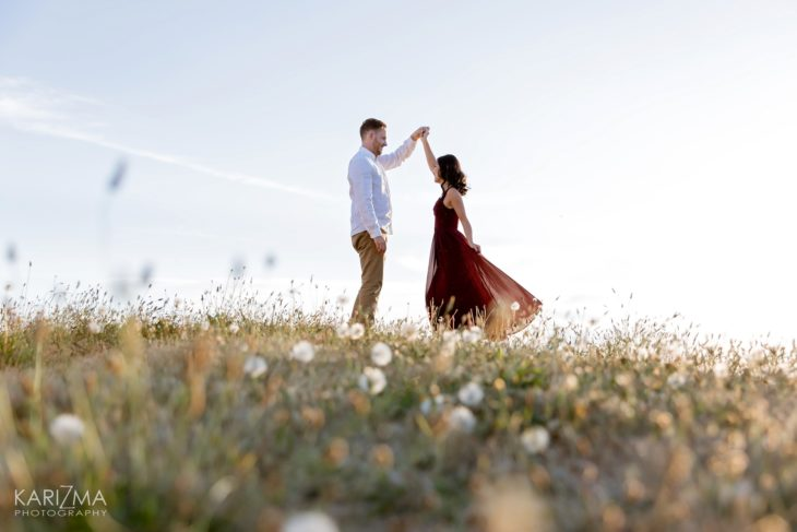 Iona Beach Engagement Session
