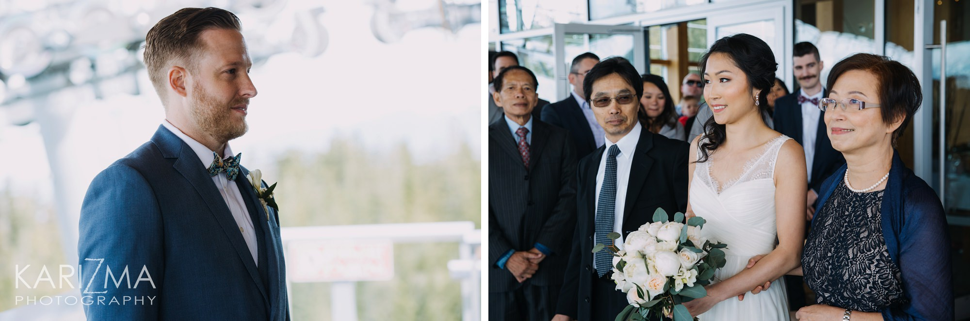 Sea to Sky Gondola Wedding Ceremony