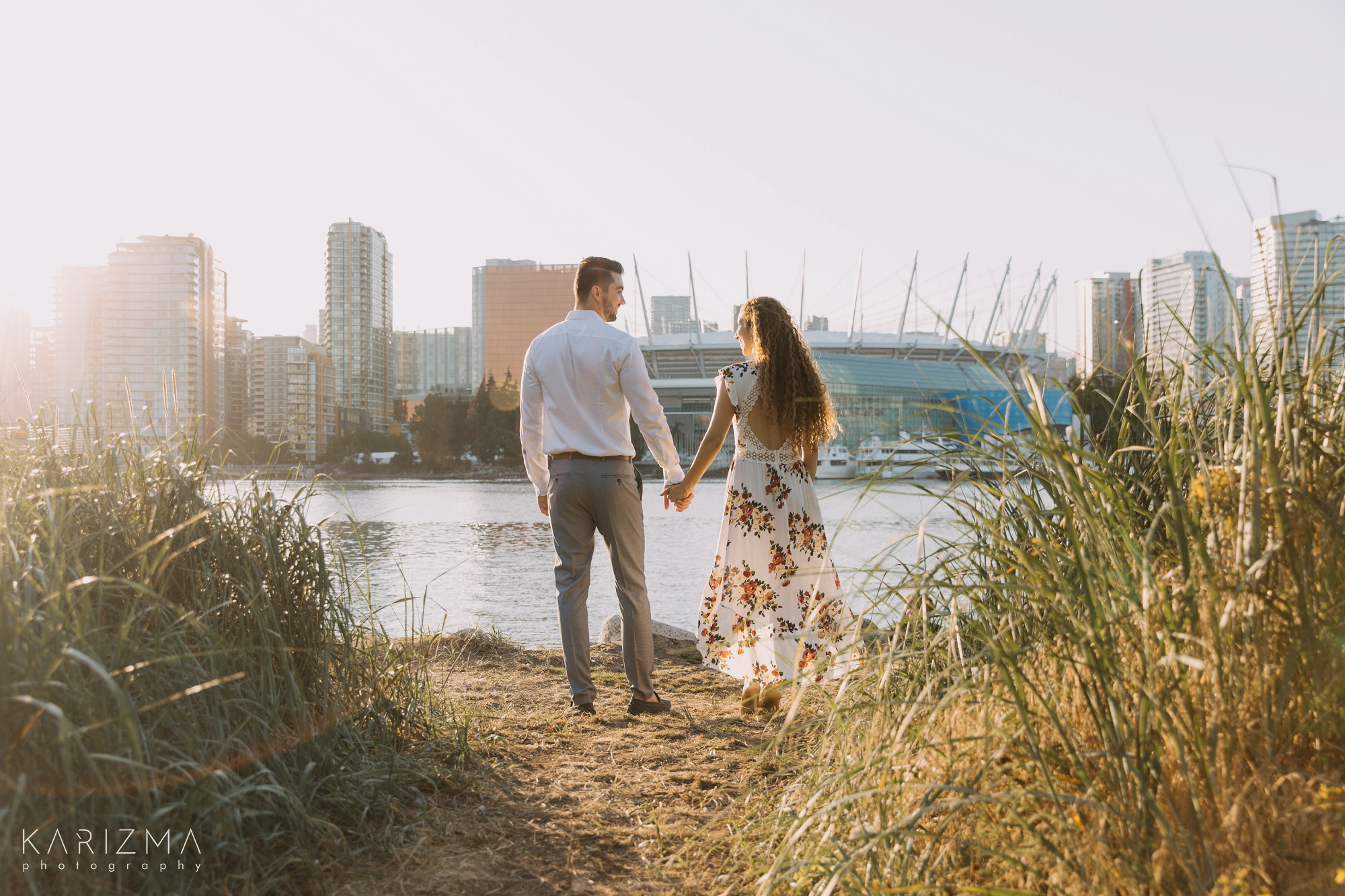 Olympic Village Engagement Session
