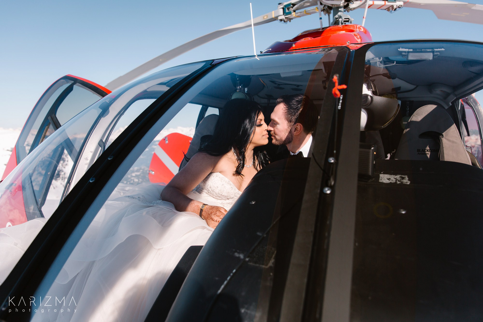 Helicopter Elopement Whistler