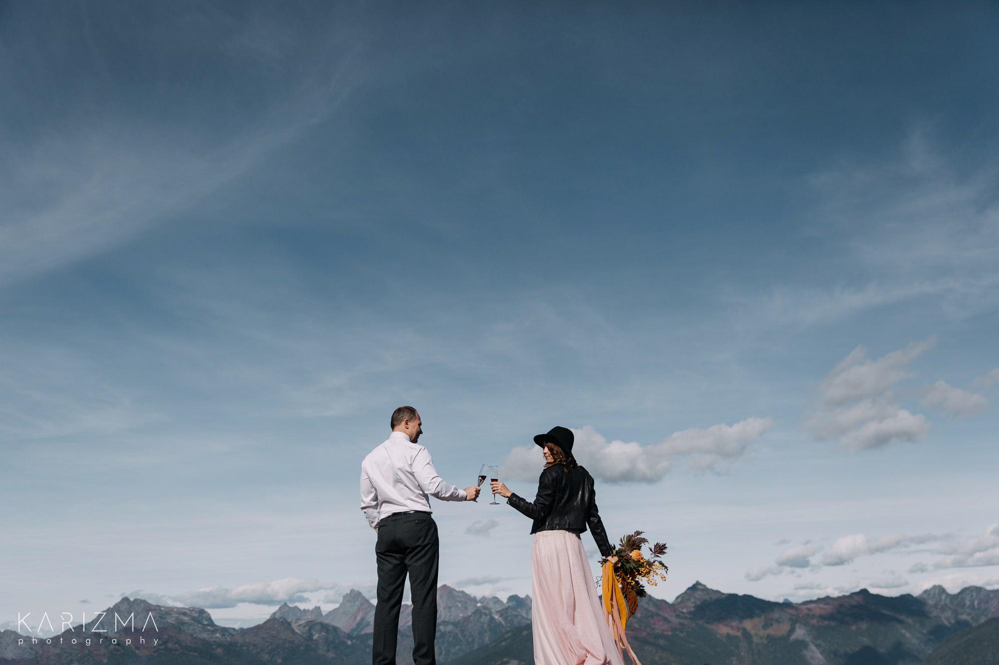 Adventure Session Vancouver elopement