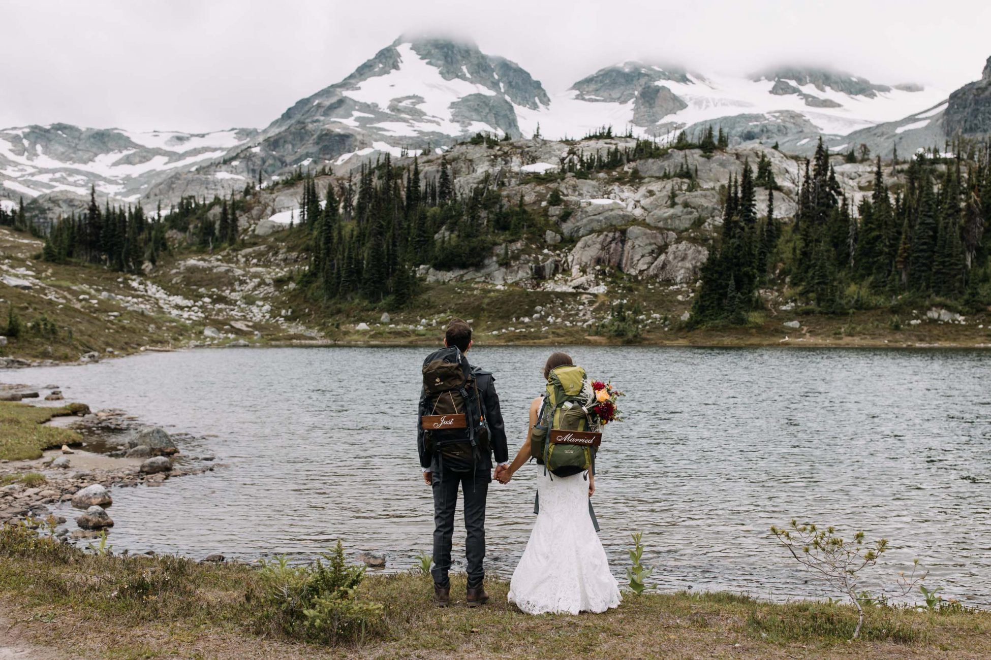 Hiking Wedding in British Columbia